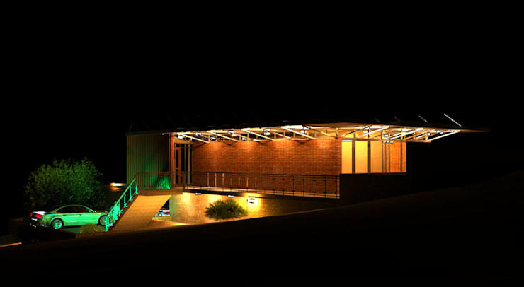 Night View:   by noh ARCHITECTS