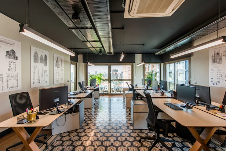Office / Sia Moore Head Office de Sia Moore Archıtecture Interıor Desıgn Industrial Metal