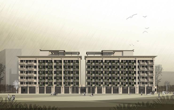 外觀:   by 雲展建築設計 Winstarts Architectural Design Group