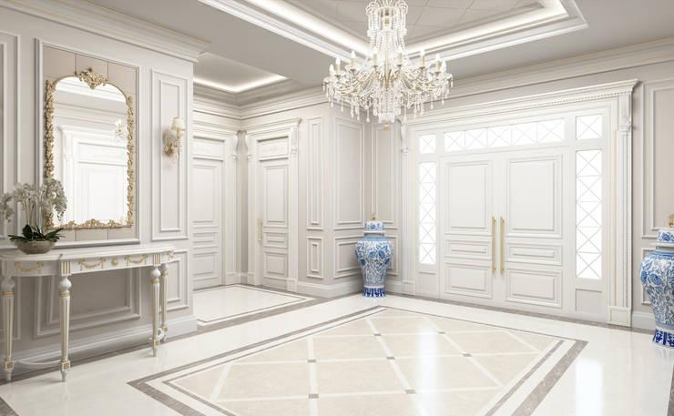 Sia Moore Archıtecture Interıor Desıgn – Ana Giriş:  tarz Koridor ve Hol, Eklektik Mermer