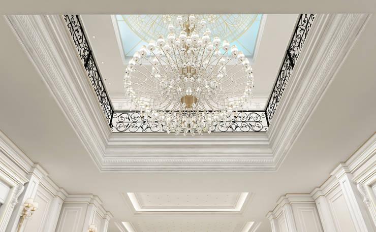 Sia Moore Archıtecture Interıor Desıgn – Galeri Boşluğu / Majidi Konağı :  tarz Koridor ve Hol, Eklektik Demir/Çelik