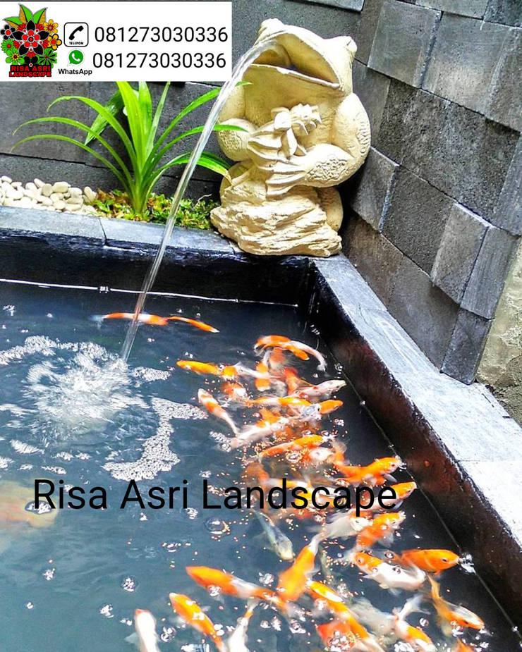 jasa tukang kolam minimalis di surabaya:   by cv. riasla