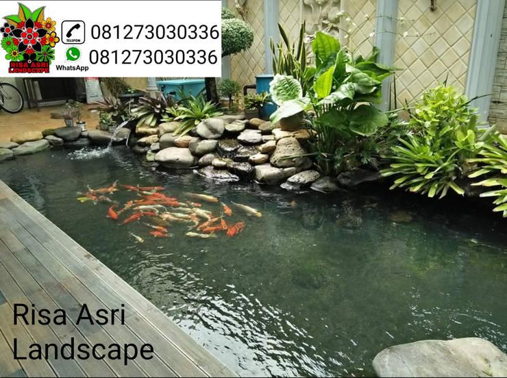 jasa pembuatan kolam hias di surabaya:   by cv. riasla