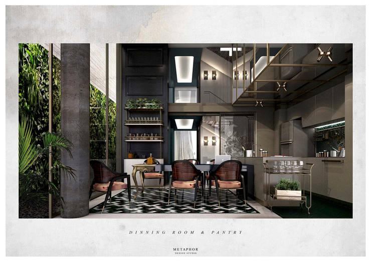 Dining room by Metaphor Design Studio, Classic