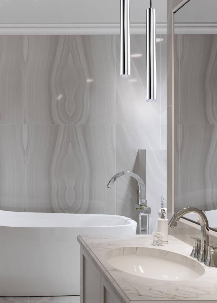 Desio Modern Brass Ceiling Pendant Light Led Bathroom:  Bathroom by Luxury Chandelier,
