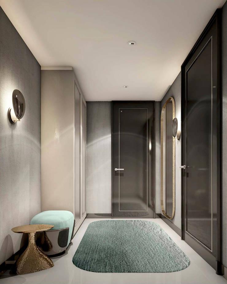 Corridor & hallway by Metaphor Design Studio, Modern