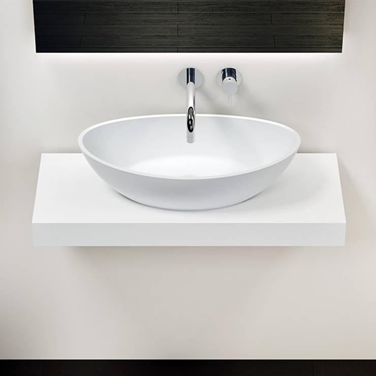 ห้องน้ำ by Badeloft GmbH - Hersteller von Badewannen und Waschbecken in Berlin