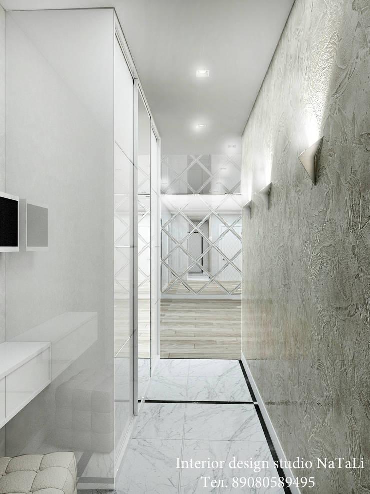 ห้องนั่งเล่น โดย Студия дизайна Натали, โมเดิร์น