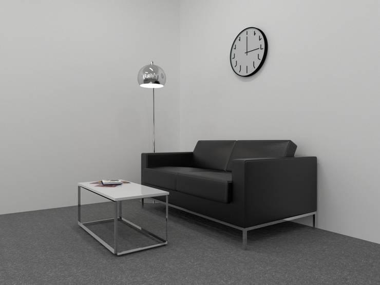 Bureaux de style  par SYME - Pracownia Wnętrz, Moderne