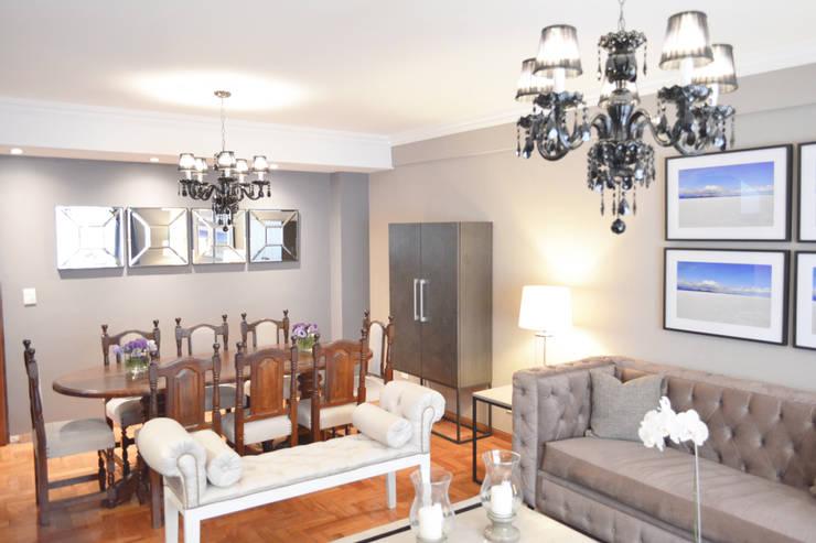 Dining room by Estudio Nicolas Pierry, Modern