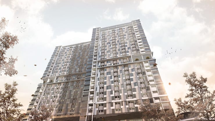 Apartment project jakarta 2019:   by KDNDA Architecture Design Firm