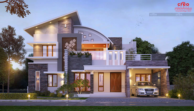 Balcony by CreoHomes Pvt Ltd