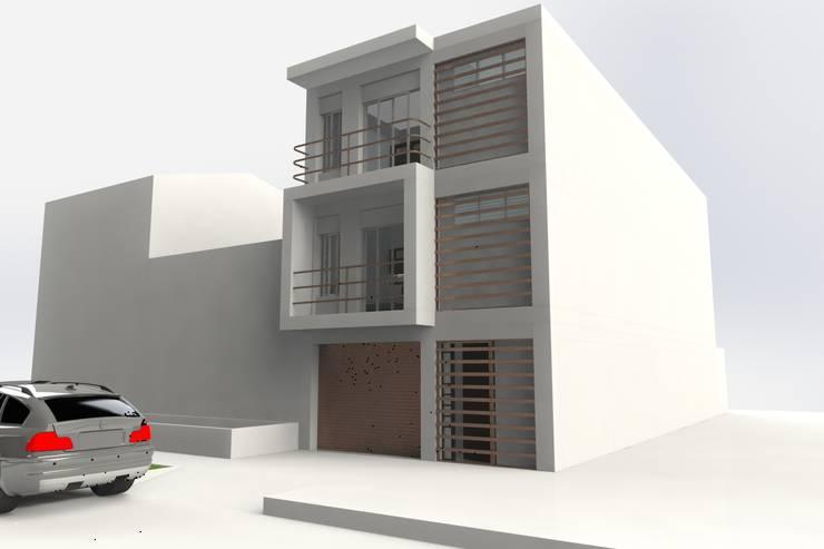 by MARROOM | Diseño Interior - Diseño Industrial Сучасний