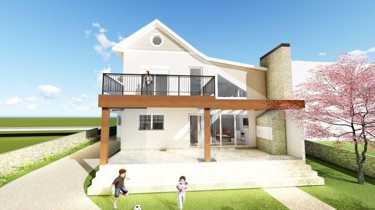 Houses by Tuti Arquitetura e Inovação, Country