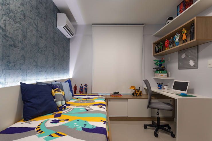 Boys Bedroom by Bruno Sgrillo Arquitetura, Modern