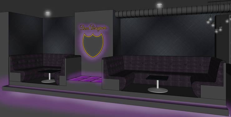 Visualisierung Club Interior - Dom Pérignon Lounge :   von Kaldma Interiors - Interior Design aus Karlsruhe,