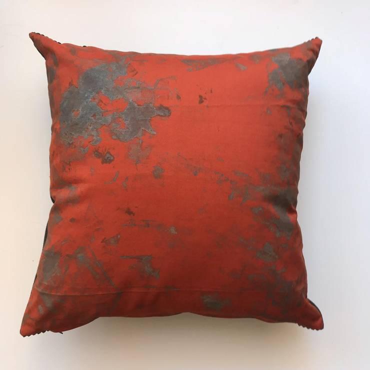 Terracotta snuggle set: modern  by Alpha Btch, Modern Textile Amber/Gold