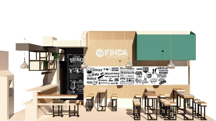 Pizzería La Finca de Marcelo Juárez Trelles Moderno