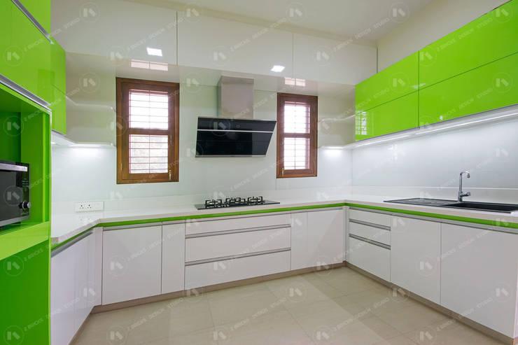 Kitchen units by 2 Bricks Design Studio