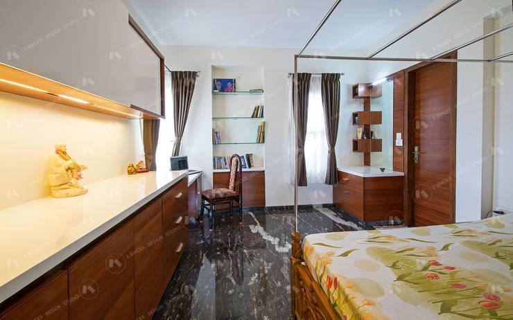 Bedroom by 2 Bricks Design Studio