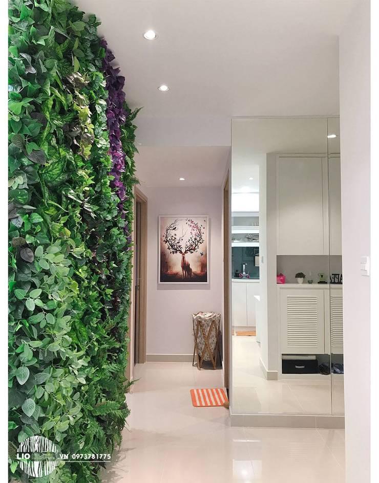 Nội thất chung cư:  Living room by Lio Decor