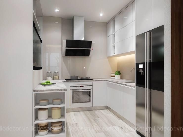 Tủ bếp:  Tủ bếp by Lio Decor