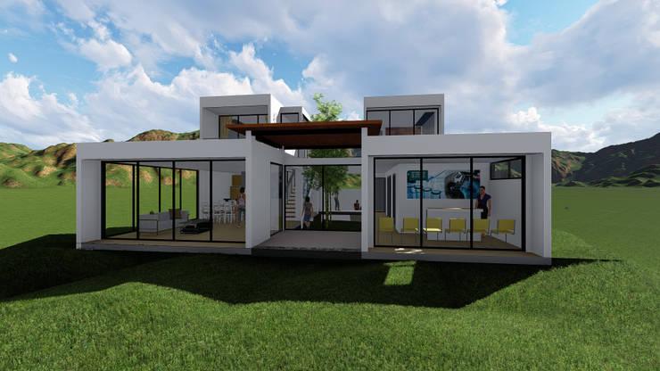CASA SANTANA: Casas unifamiliares de estilo  por JHONATAN NAVARRO ARQUITECTO