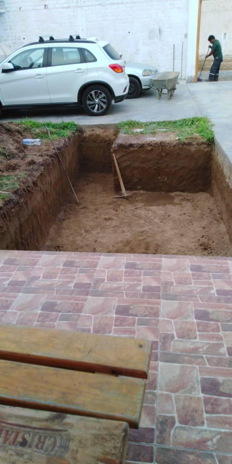 Preparacion del terreno:  de estilo  por Pool Solei