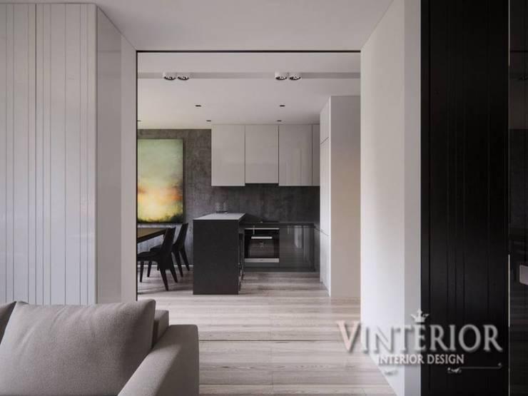 ห้องครัว โดย Vinterior - дизайн интерьера, โมเดิร์น