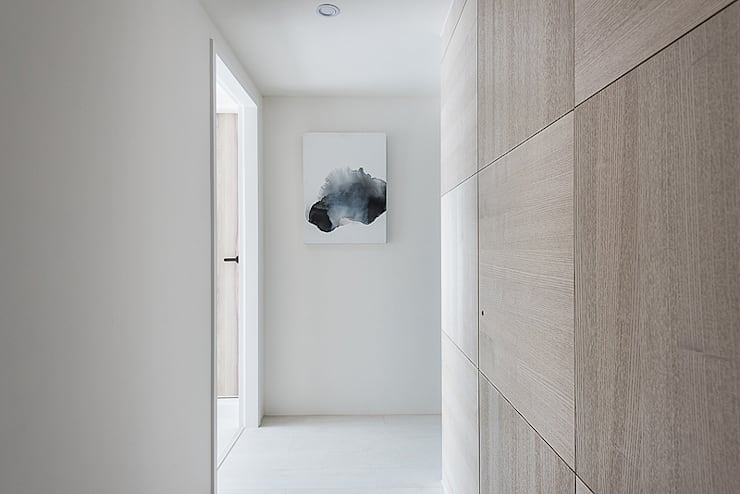 NUDE:  走廊 & 玄關 by 知域設計