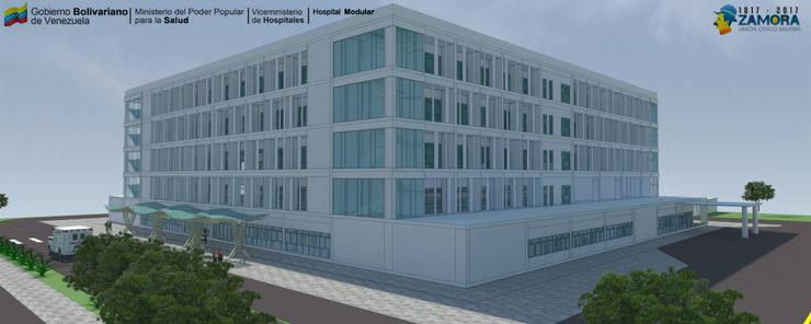 HOSPITAL REGIONAL:  de estilo  por LAC ARQUITECTURA HOSPITALARIA
