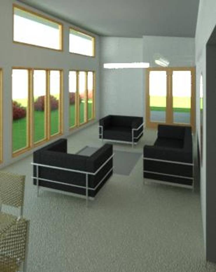 Sala de estar acogedora: Livings de estilo  por Constructora Alonso Spa
