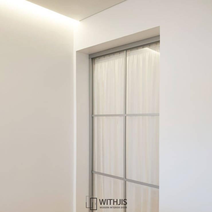Cửa bên trong theo WITHJIS(위드지스), Hiện đại Nhôm / Kẽm