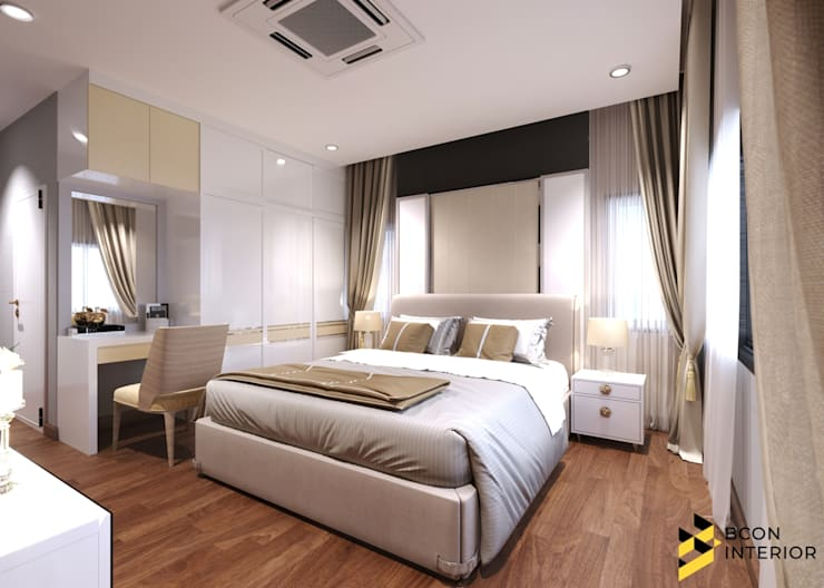 Bedroom by Bcon Interior