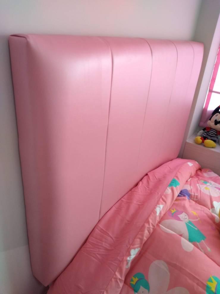 Cabecera: Dormitorios infantiles  de estilo  por Inspira