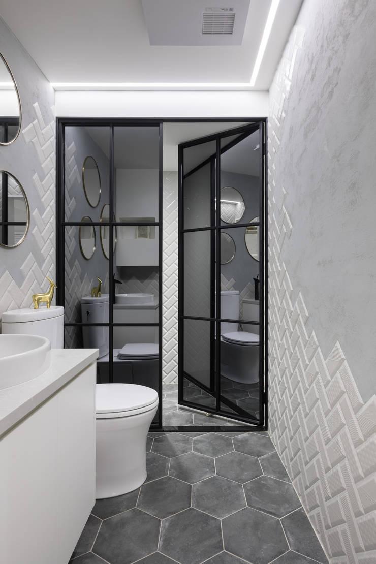 衛浴:  辦公室&店面 by 存果空間設計有限公司