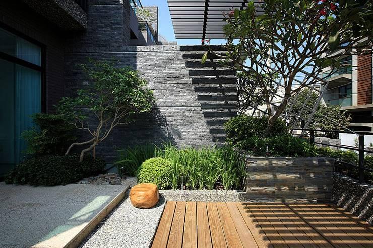 景觀設計 | 層層大院生活:  花園 by 大桓設計顧問有限公司