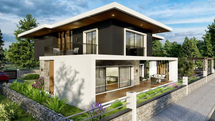 Casas estilo moderno: ideas, arquitectura e imágenes de ANTE MİMARLIK Moderno