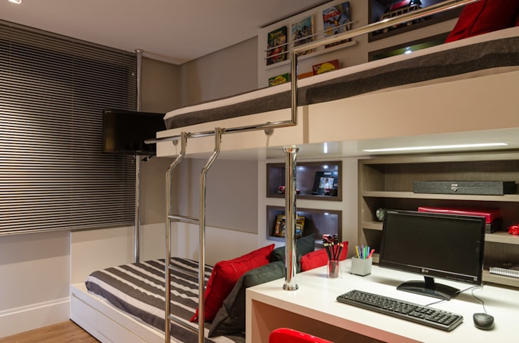 Nursery/kid's room by BG arquitetura | Projetos Comerciais, Modern