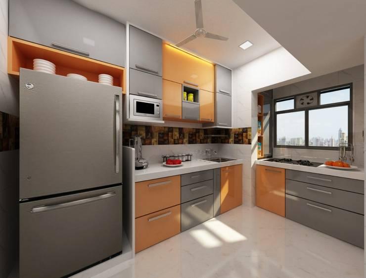 Kitchen Design Ideas:  Kitchen by Square 4 Design & Build,Modern