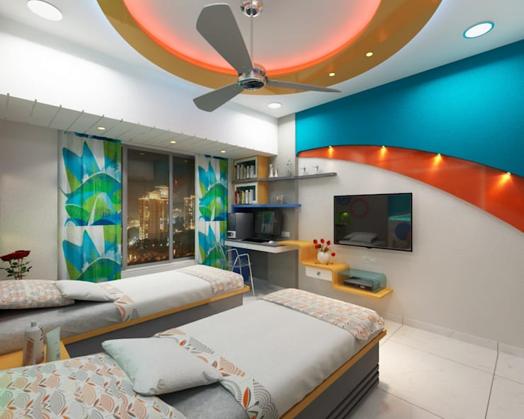 Bedroom Design Ideas:  Bedroom by Square 4 Design & Build,Modern