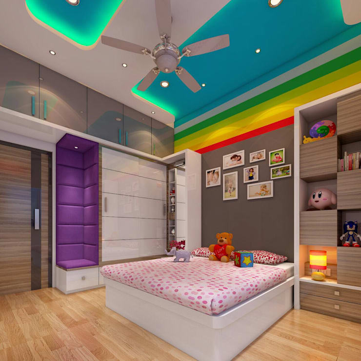 Bedroom by Square 4 Design & Build, Modern