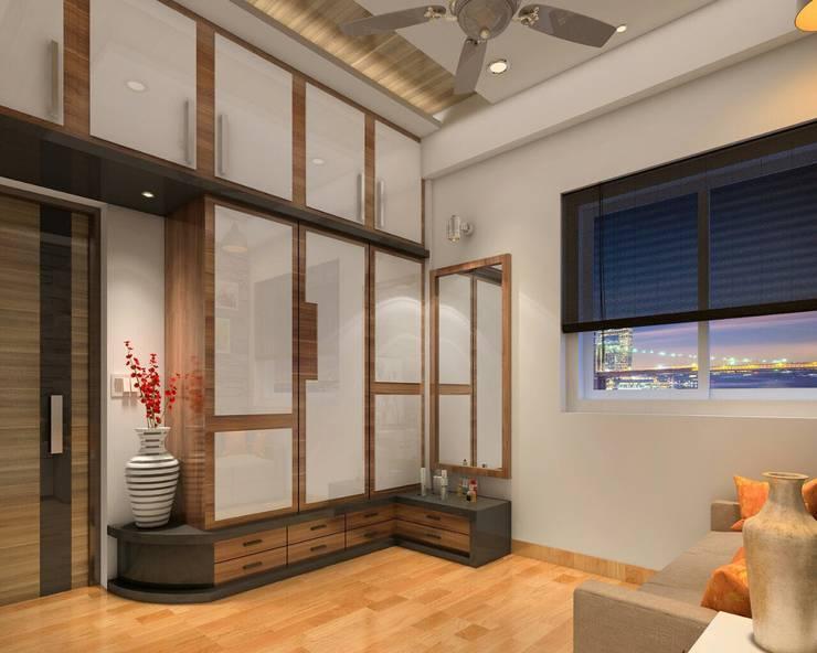 Media room by Square 4 Design & Build, Modern