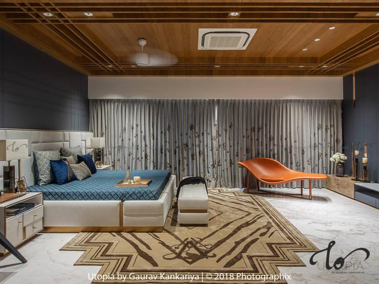 Cuartos de estilo moderno de Utopia by Gaurav Kankariya Moderno