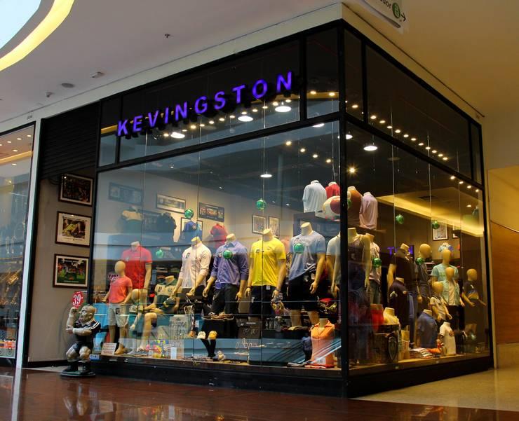 Fachada da Loja Kevingston do Shopping Vila Velha:   por Arquitetura Estratégica