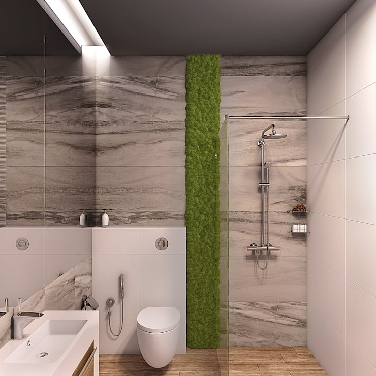 Bathroom by Wide Design Group,