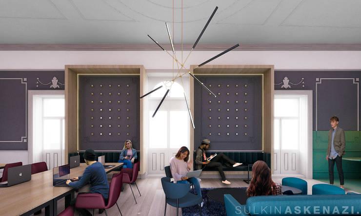 Study/office by Sulkin Askenazi, Modern