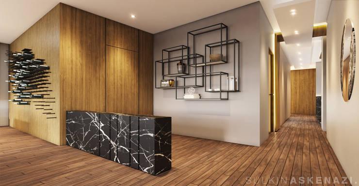 Corridor & hallway by Sulkin Askenazi