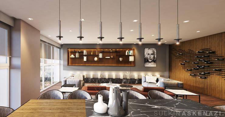 Dining room by Sulkin Askenazi
