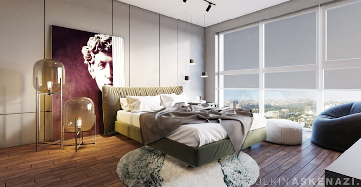 Bedroom by Sulkin Askenazi